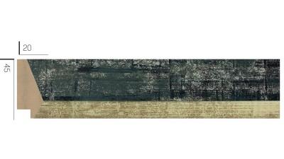 DL-4524 Пластиковый Багет